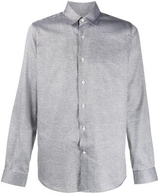 Canali Long Sleeve Button Up Shirt