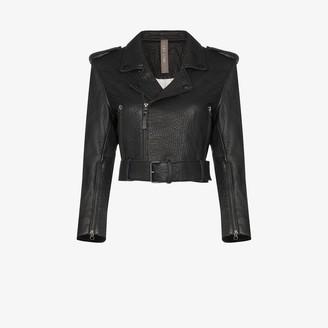 Lot Lthr Lola leather biker jacket