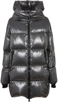 Herno Silver Technical Fabric Padded Jacket