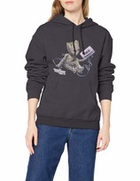 Thumbnail for your product : Marvel Women's Guardians of The Galaxy Vol2 Groot Tape Hoodie