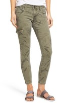 KUT from the Kloth Petite Women's Brigitte Print Stretch Ankle Skinny Jeans