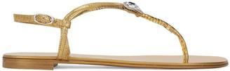 Giuseppe Zanotti Licia embellished flip flops
