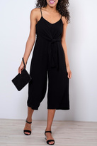 Everly Side Tie Culotte Jumpsuit