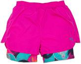 Puma Bubble Print Running Shorts - Preschool Girls 4-6x