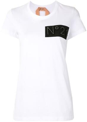 No.21 Logo Patch T-Shirt