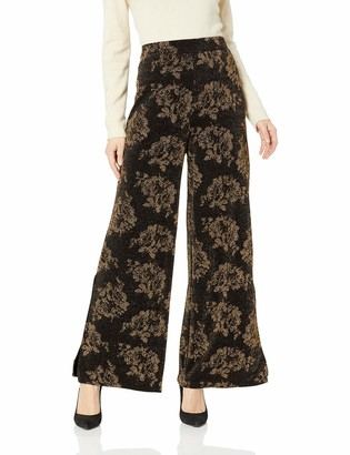ECI New York Women's Floral Knit Pants