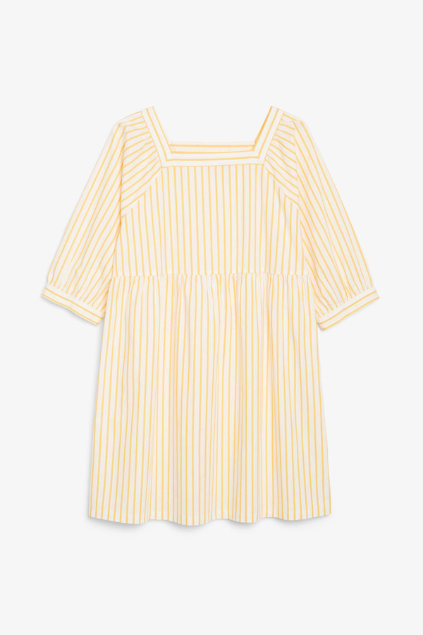 Thumbnail for your product : Monki Square neck dress
