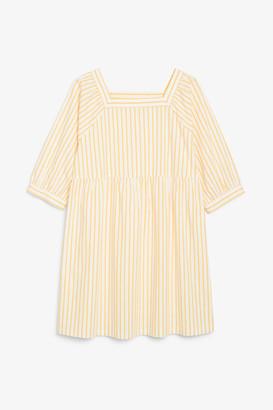 Monki Square neck dress