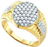 DazzlingRock Collection 1 Carat DIAMOND FASHION MENS RING