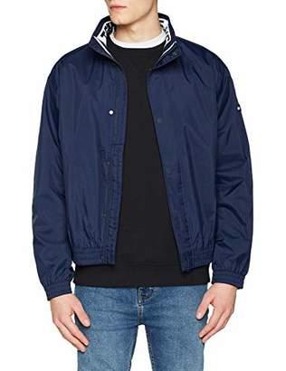 Tommy Jeans Hilfiger Denim Men's TJM Mesh Trainer Jacket Jacket,Large