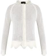 Simone Rocha Merino wool, silk and cashmere-blend caridgan