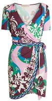 Emilio Pucci Silk Jersey Wrap Dress