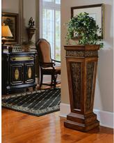 Pulaski Furniture Faux Metal Paneling Base Pedestal