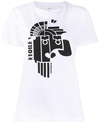 Etoile Isabel Marant abstract print T-shirt