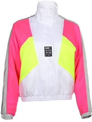 Puma Tailored For Sport OG Retro Track Jacket White) Women's Clothing