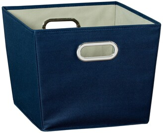 Honey-Can-Do Navy Medium Storage Bin