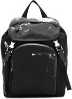 Neil Barrett printed flap pocket backpack