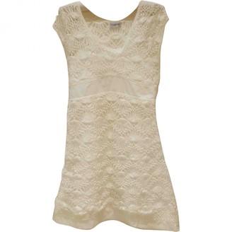 Philosophy di Alberta Ferretti White Lace Dress for Women