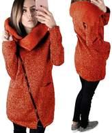 Gillberry Women's Jacket Gillberry Womens Casual Hooded Jacket Coat Long Zipper Sweatshirt Outwear Tops (L, )