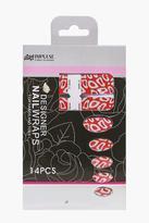 Boohoo Halloween Leopard Print Nail Wraps
