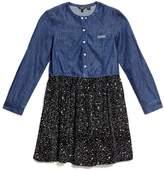 GUESS Denim Two-Fer Dress (7-10)
