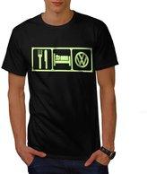 Eat Sleep VW Repeat Men NEW XXXL T-shirt | Wellcoda