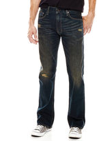 Arizona Flex Original Bootcut Destruction Jeans