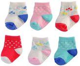 Carter's Baby Girl 6-pk. Pattern Crew Socks