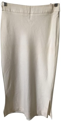 Patrizia Pepe Beige Wool Skirt for Women