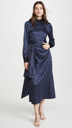 Keepsake Foolish Long Sleeve Midi Dress