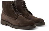 Ermenegildo Zegna - Suede Brogue Boots