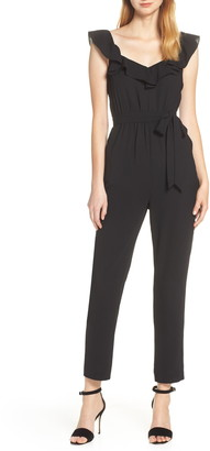 Ali & Jay Say You Will Stay Waist Tie Jumpsuit