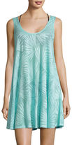 J Valdi Palm-Tree Tank Cover-Up