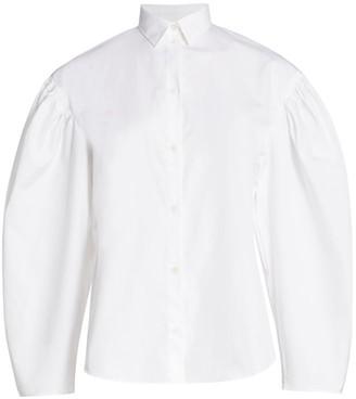 Totême Zonza Puff Sleeve Shirt