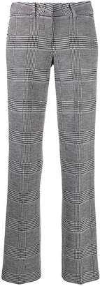 Cambio houndstooth print trousers