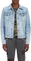 NSF Men's Distressed Denim Jacket
