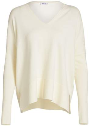 Akris Punto V-Neck Wool Pullover Sweater