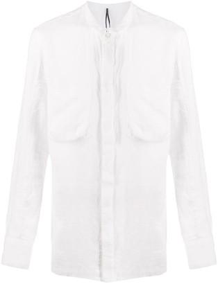 Masnada Grandad Collar Shirt