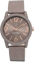 Nine West Slavin Taupe Strap Watch