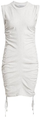 Alexander Wang Ruched Bodycon T-Shirt Dress