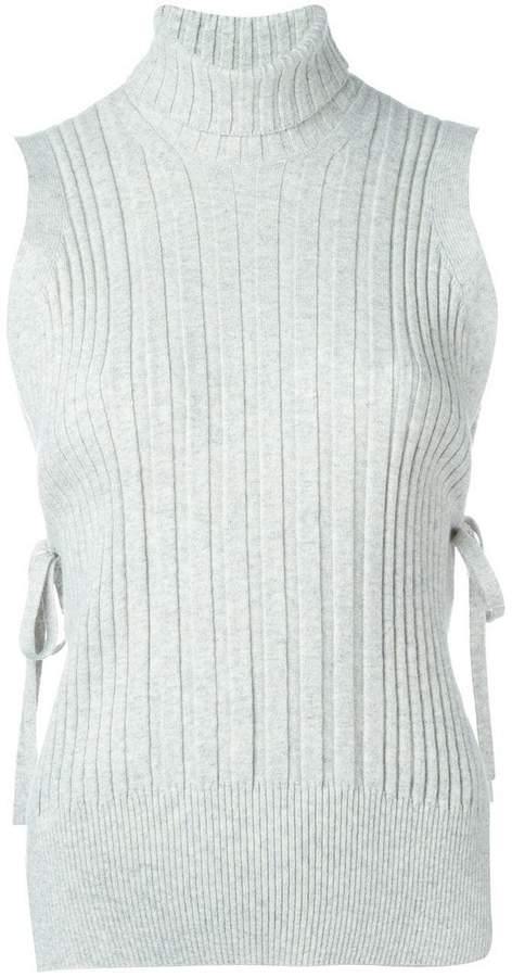 Maison Margiela ribbed sleeveless top