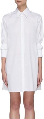 Victoria Victoria Beckham Ruffle cuff shirt dress
