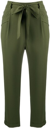 Liu Jo High-Rise Cropped Trousers