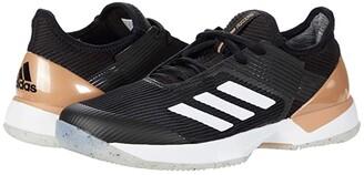 adidas Adizero Ubersonic 3 (Core Black/Footwear White/Copper Metallic) Women's Shoes