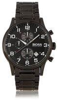 HUGO BOSS 1513180 Chronograph Stainless Steel 3-Hand Quartz Watch One Size Assorted-Pre-Pack