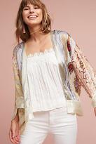 Anthropologie Paisley Patchwork Kimono
