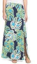 Tommy Bahama Women's 'Pop Art Palms' Print Jersey Maxi Skirt