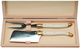 Jean Dubost Le Thiers Laguiole 2-Piece Ivory Cheese Set