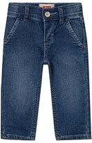Levi's Light Wash Jog Jean with Elastic Waist and Cuffs