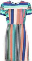 Diane von Furstenberg short sleeve tailored dress - women - Silk/Spandex/Elastane/Viscose - 2
